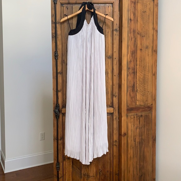 Maxie halter dress - ties at the neck in the back